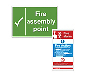 Fire Exit & Action Signs - Rigid