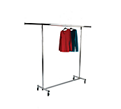 Fold-away Clothes Rail & Accessories Extension Posts