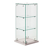 Frameless Counter Top Display Cabinets