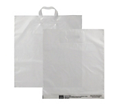 Frosted Plastic Carrier Bags