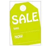 Funky Sale Cards