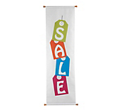 Funky Sale Vertical Banner
