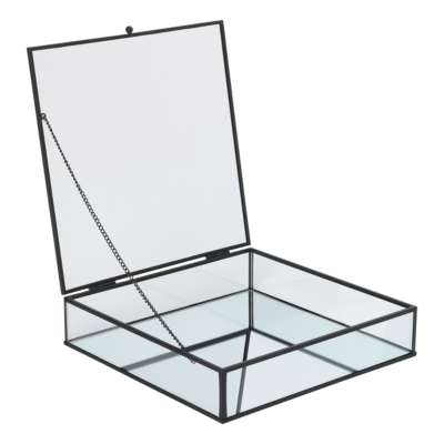 Glass Display Case Metal