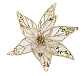 Golden Flower Clip