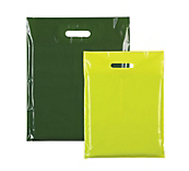 Green Plastic Carrier Bags