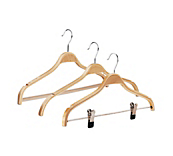 Natural Laminated Coat Hangers