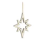 Hanging Pearl Star