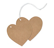 Heart Swing Tags