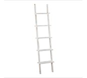 Heritage White 5 Tier Ladder Display