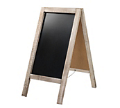 Heritage Rustic A Frame Chalk Board