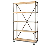 Heritage Drift Framed Shelving Units