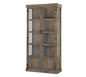Heritage Rustic Display Cabinet