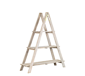 Heritage Wash 3 Tier Ladder Display