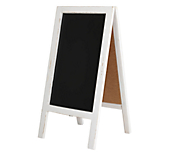 Heritage White A Frame Chalkboard