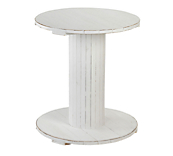 Heritage White Cable Table
