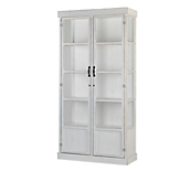 Heritage White Display Cabinet