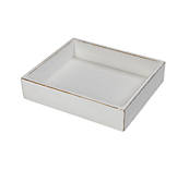 Heritage White Wooden Tray