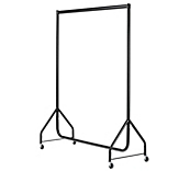 Black Clothes Rails