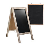 Hotel Display Chalkboards