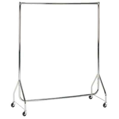Chrome Heavy Duty Clothes Rails