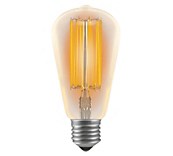 Antike LED Filament Glühlampen - Kolbenform