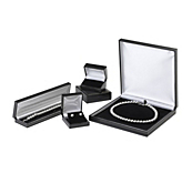 Black Leatherette Jewellery Cases