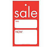Linear Sale Hanger Tickets