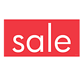 Linear Sale Range Window Cling