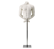 Male Athletic Headless Mannequin Torso