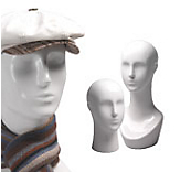 Abstract Gloss Mannequin Heads