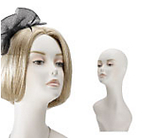 Female Mannequin Heads