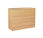 Maple Enclosed Slimline Counter