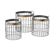 Metal Wire Display Basket