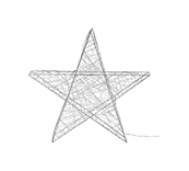 Micro LED Wire Star