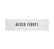 Mixed Fibre Clothing Labels