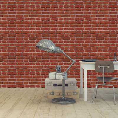 Mural Vintage Brick Decor
