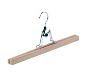 Natural Wooden Clamp Hangers