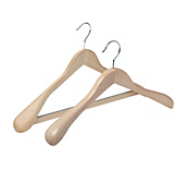 Natural Wooden Display Coat Hangers