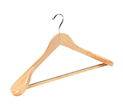 Natural Wooden Suit Hangers