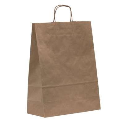 Matt Brown Paper Carrier Bags