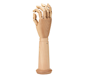 Natural Wooden Hands