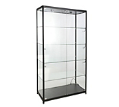 Black Panorama Display Cabinets