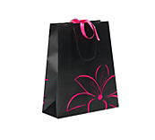 Oriental Luxury Matt Gift Bags - Black