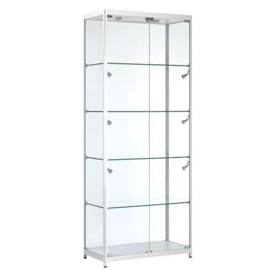 Aluminium Panorama Glass Display Cabinets