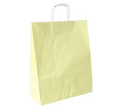 Matt Cream Paper Carrier Bags