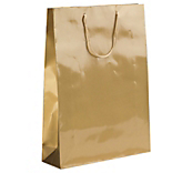 Gold Laminated Gloss Paper Bags