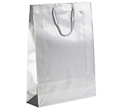 Silver Laminated Gloss Paper Bags