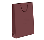 Brown Laminated Matt Paper Bags