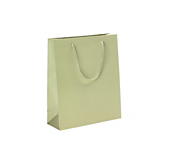 Sage Green Laminated Matt Paper Bags