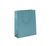Sea Green Laminated Matt Paper Bags